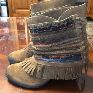 Naughty monkey boots. Size 8.5. Like new condition